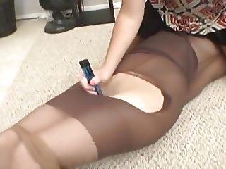 Pantyhose bondage 2