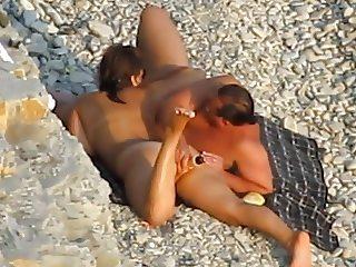 thea apo psila! beach view 26 couple anal dildo play
