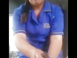 Hotel Staff gives Oiled Dick Massage