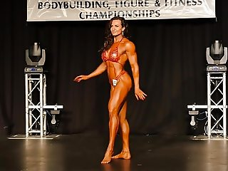 muscle contest sexy woman
