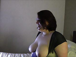 Chubby Geeky Girl short clips