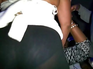 House Party! Redbone VPL Leggings Twerk Groped JRay513Tv