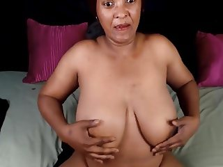 43 Year Old African Ebony Queen Milf Huge Tits
