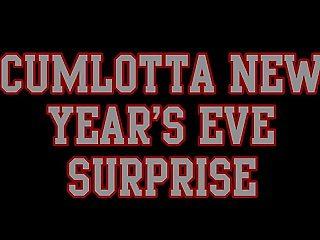 CUMLOTTA HUNTER'S - NEW YEARS SURPRISE CLIP