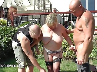 Messing around in the garden with Alisha Rydes