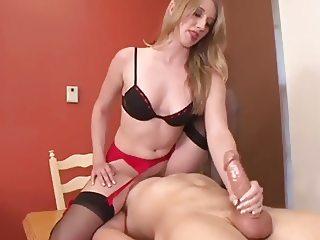 Torturous facesitting handjob