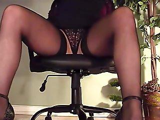 My webcam under my desk