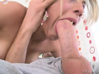 Blonde Beauty Gets Mouth Gagged Pov