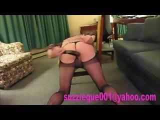 Sissy self spanking ass