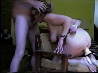 Tied and used wife.