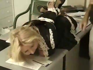 Maid hogtied