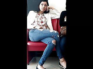 Sexy Teenie Slut In Hot Tight Jeans Voyeur HD
