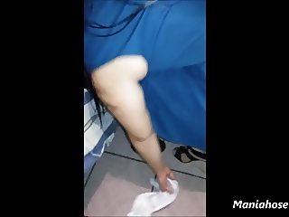 upskirt wife