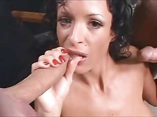 Blowbang bukkake remix music video