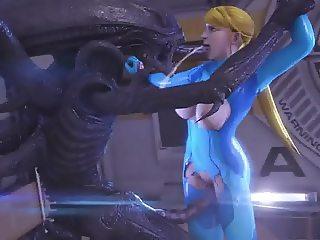 Alien fuck 9