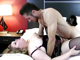 Chubby Duchess eaten out then fucked