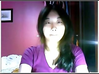 amateur asian girl on webcam