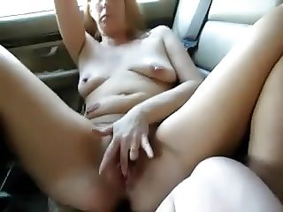 Squirting on the Backseat