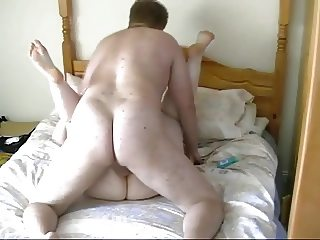 Nympho Chubby BBW Teen GF fucked by her BF