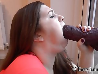 Jennica Lynn and HUGE DILDOS