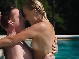 Malin Akerman fucked in pool