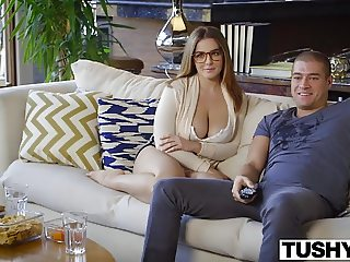 TUSHY First Anal For Curvy Natasha Nice