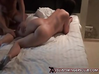 Velvet Swingers Club newbie wife double teamed good
