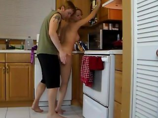 Mom Lets Sob Lift Her And Grinds Her Ass