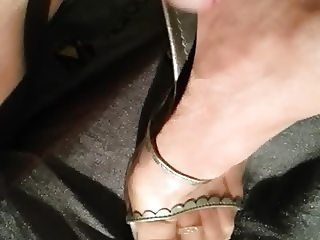 cum on nylons feet and high heels