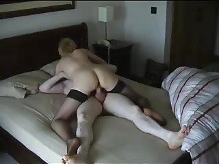 Cuckold wife fucks another stranger