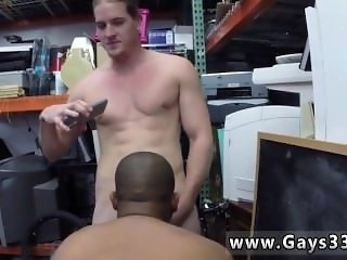 Black gay nudists Desperate stud does anything for money