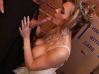 Tanya Tate celebrate having the mammoth cock traverse her walls