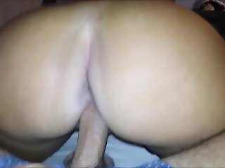 REVERSE COWGIRL PERFECT BOOTY LATINA TWERKING - BRITTANY