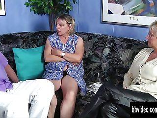 Bisexual german slags share cock