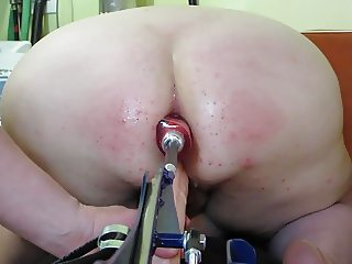 XtraNaughtySlut Ass Fucked by Machine