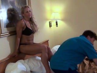Blonde thunder wrestling