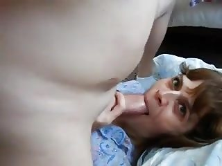 Wife eats friend's cum while husband films