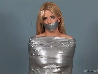 Chanel Rae Tape Gagged