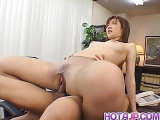 Misaki Inaba fucked at office