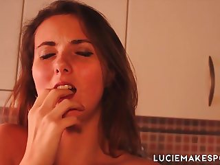 LUCIE MAKES PORN Fucking Baked Space Cakes