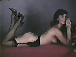 PRETTY WOMAN - vintage striptease stocking heels basque