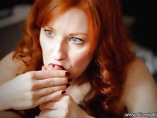 Erotic Redhead MILF Blowjob Utopia