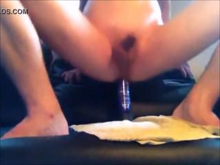 Danish 22 Yo Boy - Enjoying Toys In Tight Asshole & Love To Ride On Toys 3