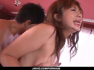 Mami Yuuki loves to feel cock inside her puffy twat