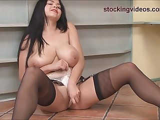 Big tits Secretary Upskirt
