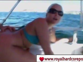 Alexis Texas Boat Hardcore scene - www.royalhardcoreporn.com