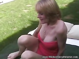 GILF Interview Turns Into Fucking
