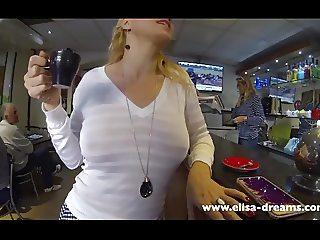 Flashing my body in public