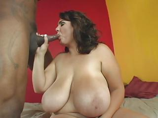 Big Stacked BBW fucked from BBC after Carwash