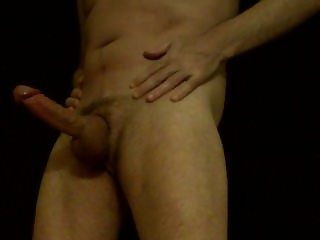 gay exhibitionist stand up show and cum